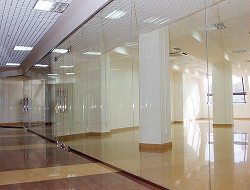 ścianki działowe szklane
